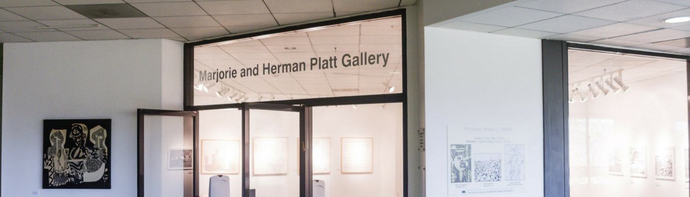 Photograph of the entrance of the Platt Gallery