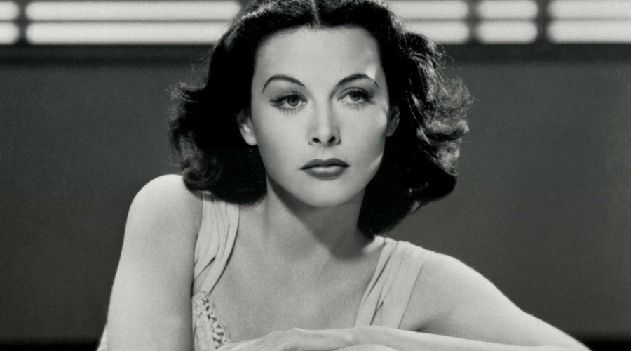 Old photo of Hedy Lamarr