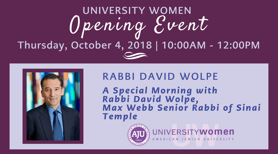 Image of University Women October Opening Event