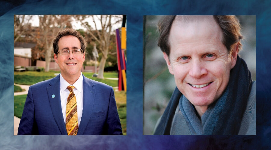 Image of Rabbi Dr. Bradley Artson and Daniel J. Seigel, M.D.