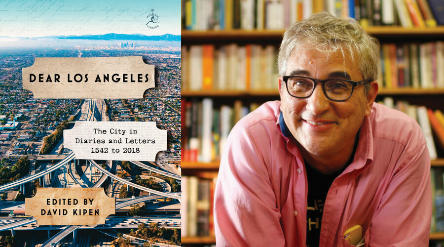 Image of Dear Los Angeles Book Cover and Author David Kipen