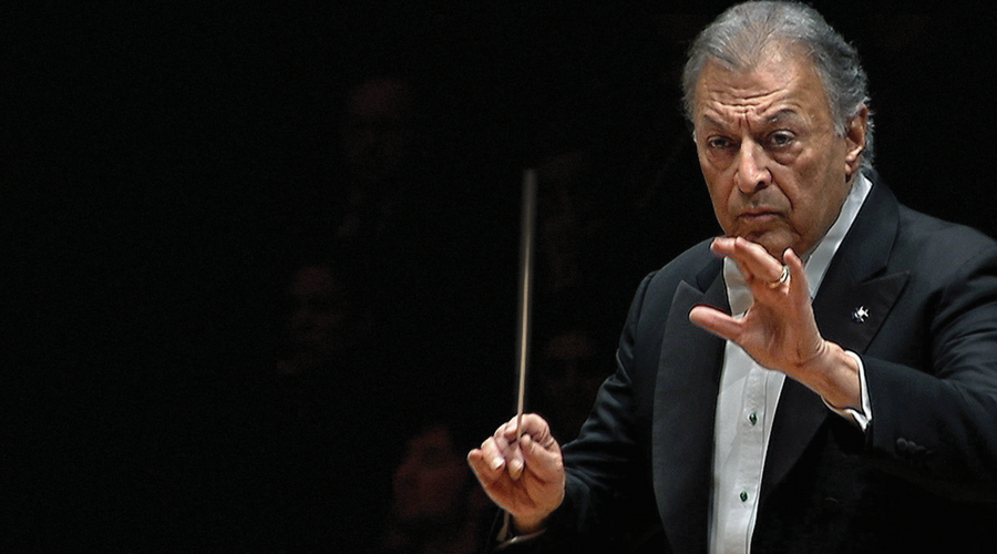 Image of Zubin Mehta conducting