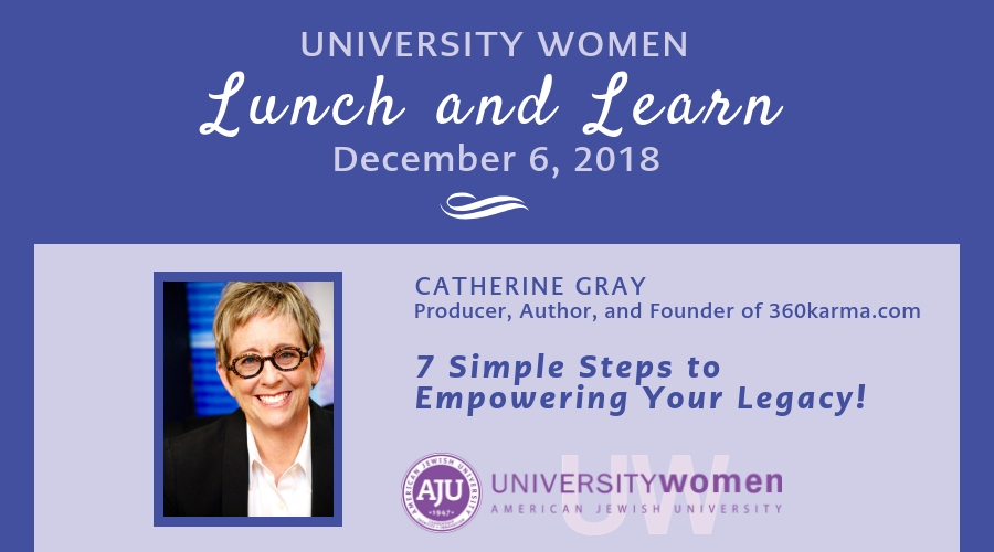 Image of University Women December Lunch and Learn