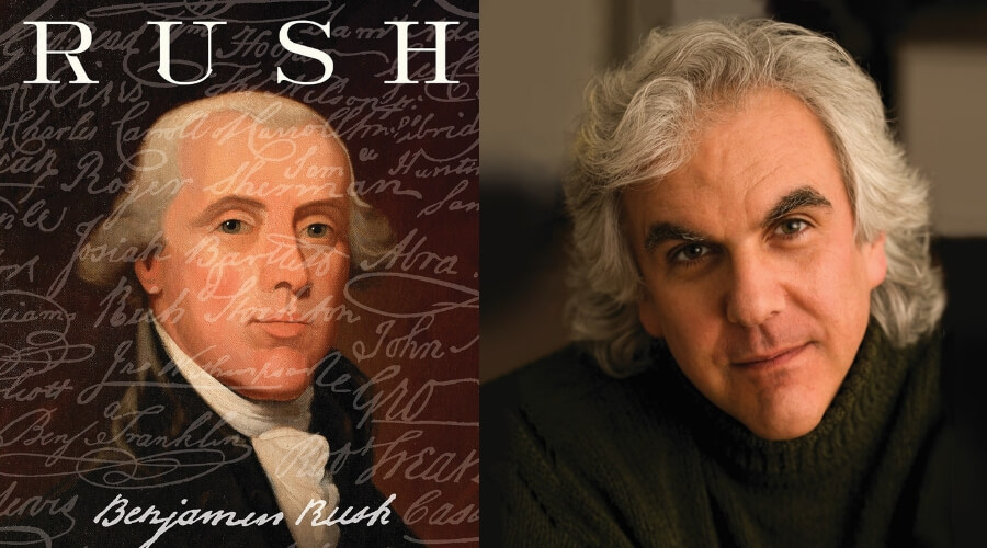 Image of Stephen Fried and Rush Book Cover
