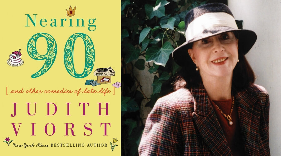 Image of Judith Viorst and Nearing 90 book cover