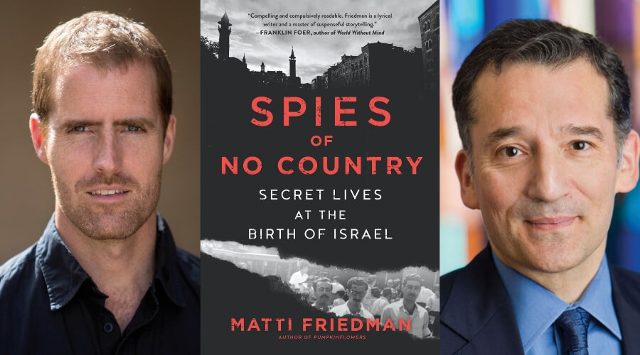 Image of Spies of No Country Book Cover by Matti Friedman, Matti Friedman, and Rabbi David Wolpe