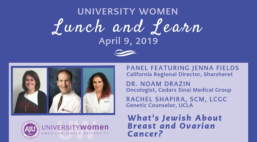 What's Jewish About Breast and Ovarian Cancer info graphic