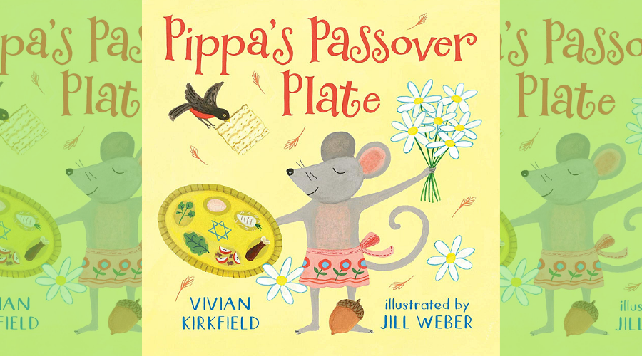 Pippa's Passover Plate book cover image