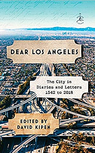 Dear Los Angeles book cover