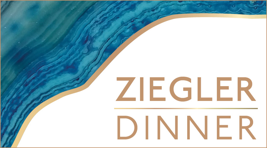 Ziegler Dinner Sign