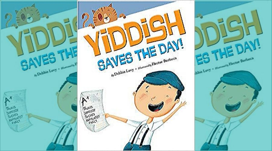 Yiddish Saves the Day book cover