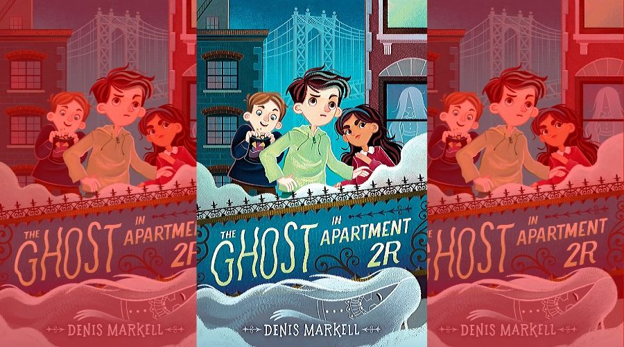 The Ghost in Apartment 2R book cover