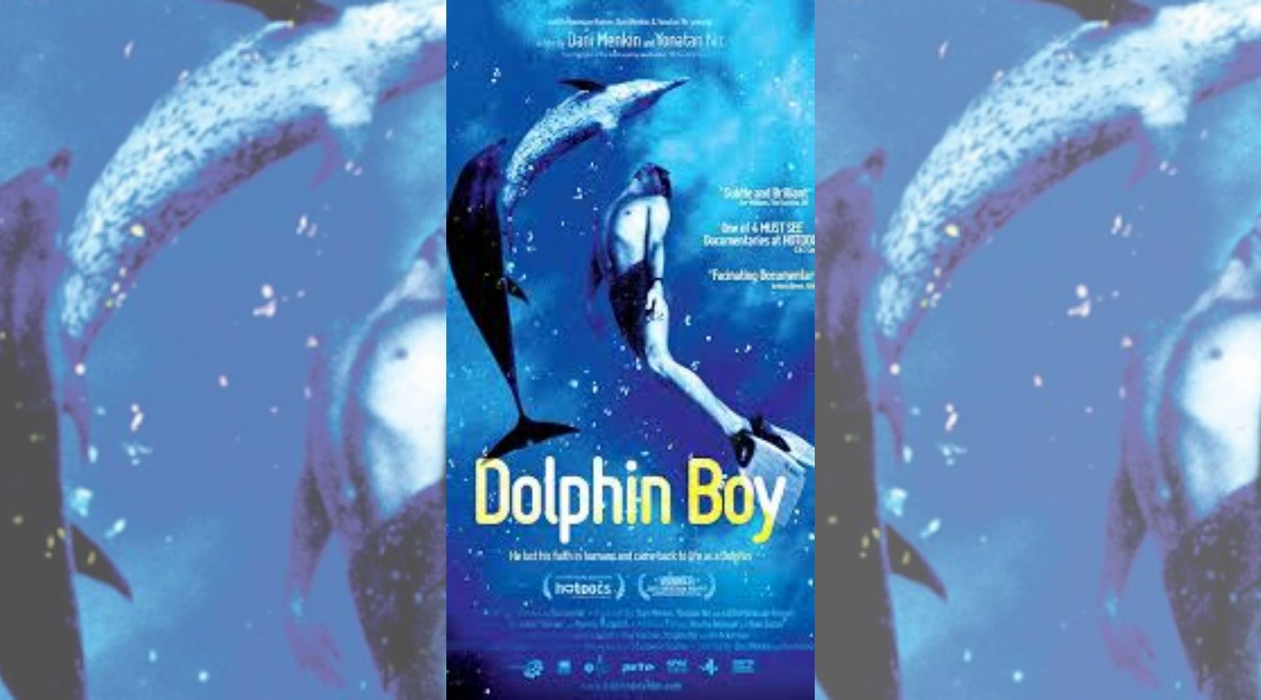dolphin boy movie poster