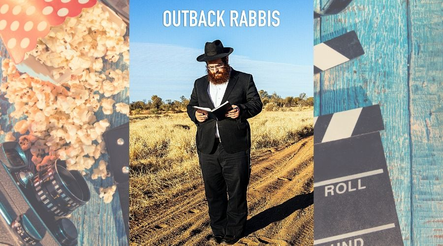 movie poster for Outback Rabbis