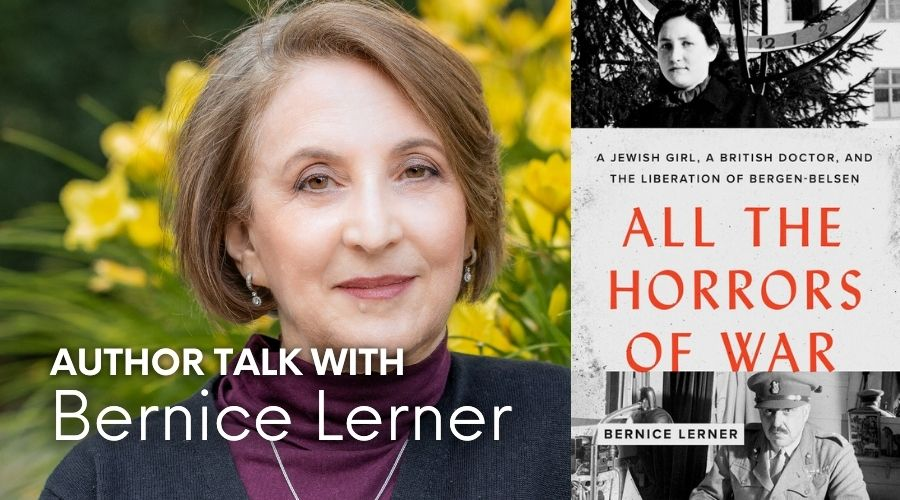 author talk with bernice lerner