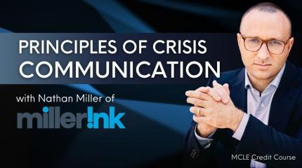 principles of crisis communication