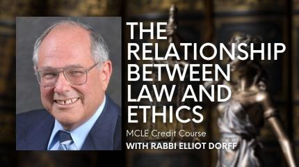 The Relationship Between Law and Ethics: MCLE Credit Course