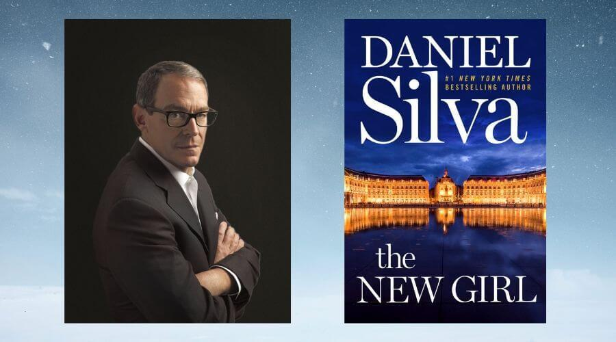 Image of Daniel Silva and The New Girl Book Cover